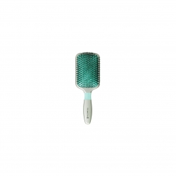 Perie Remington Shine Therapy Paddle Brush B80P, Argintiu/Verde