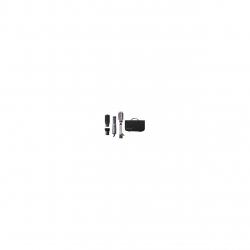 Perie rotativa cu aer cald Remington Curl & Straight Confidence AS8606, 800 W, 4 accesorii, Ionizare, Gri/Bronz