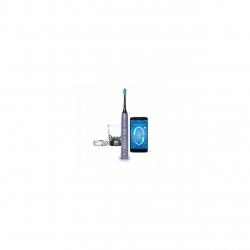 Periuta de dinti electrica Philips Sonicare DiamondClean Smart HX9901/03, 4 moduri de periere, 3 intensitati, Bluetooth, Argintiu