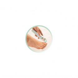 Pila electronica Remington Reveal Perfect Pedi Wet & Dry CR6000, perie exfolianta, Alb/Verde CR6000