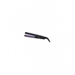 Placa de indreptat parul Remington Colour Protect S6300, 230 grade, Invelis ceramic avansat cu micro-particule Colour Protect, Incalzire in 15 sec, 30 setari temperatura, Negru/Mov S6300