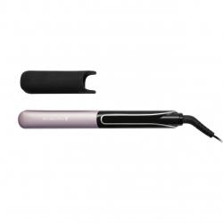 Placa de indreptat si ondulat parul Remington Sleek & Curl Expert S6700, Ceramica cu titan negru, Ecran digital, Mov/Negru