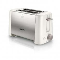 Prajitor de paine Philips HD4825/00, 2 felii, Putere 800 W, Alb