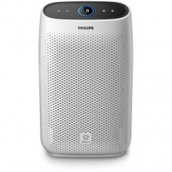 Purificator de aer Philips AC1214/10, Tehnologie AeraSense, Tehnologie VitaShield, Feedback real privind calitatea aerului, Conectivitate Bluetooth, 3 moduri automate, 4 setari manuale, afisaj digital, Senzor PM2,5, Alb