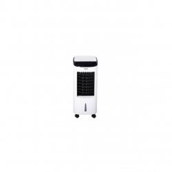 Racitor de aer portabil Adler AD 7922, multifunctional cu functie de umidificare, purificare si racire, putere 350 W, cu telecomanda, 3 moduri de ventilatie, Alb/Negru