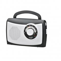 Radio Adler AD 1155, analog, Alb/Negru