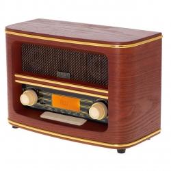 Radio retro  Adler AD1187, Bluetooth, USB , Ecran LCD, Temporizator, Maro