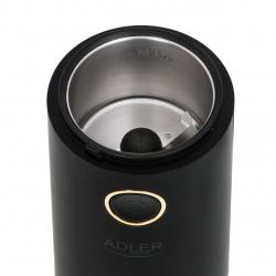 Rasnita de cafea Adler AD 4446bg, 75 g, 150 W, Negru/Auriu