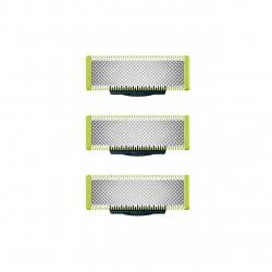 Rezerve Philips OneBlade QP230/50, Compatibil cu toate dispozitivele OneBlade si OneBladePRO, 3 rezerve, Verde