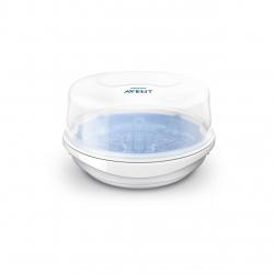 Sterilizator pentru microunde PHILIPS AVENT SCF281/02, 0.2l, Alb-Albastru