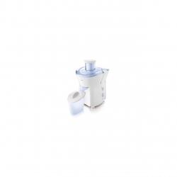 Storcator de fructe HR1823/70, 200W, Filtru cu Micro-sita, Vas pentru suc de 400 ml, Alb/Albastru