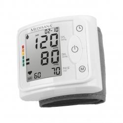 Tensiometru de incheietura Medisana BW 320 51074, 2 utilizatori, Alb