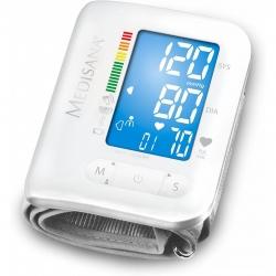 Tensiometru de incheietura Medisana BW300  Bluetooth Smart, Alb