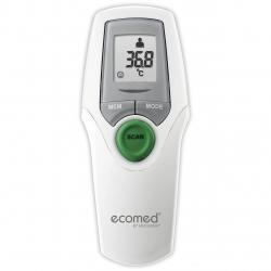 Termometru cu infrarosii Ecomed TM-65E, Multifunctional Non-Contact, Alb/Gri