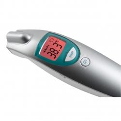 Termometru digital Medisana FTN 76120, Tehnologie infrarosu non-contact, Argintiu