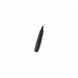 Trimmer pentru nas/urechi Remington NE3150, baterii, lame otel, Negru NE3150