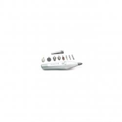 Trusa pentru manichiura si pedichiura Remington Pro Collection MAN3000, 12 piese, Alb/Gri MAN3000