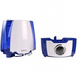 Umidificator de aer cu ultrasunete Camry CR 7952, 5.2 l, Ionizare, Timer, 25m2, 17 h, Alb-albastru