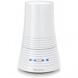 Umidificator de aer Medisana AH 662 60077, Tehnologie cu ultrasunete, Compartiment pentru arome, Oprire automata,Alb