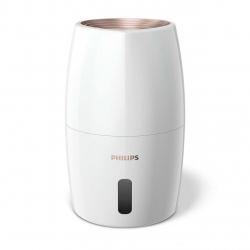 Umidificator Philips HU2716/10, NanoCloud, 3 viteze, Auto & Sleep, Acoperire 32 mp, Rezervor 2 l, Alb