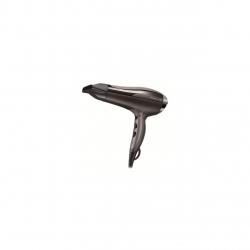 Uscator de par Remington D5220, 2400 W, 2 viteze, Turbo, Difuzor volum, Concentrator, Negru