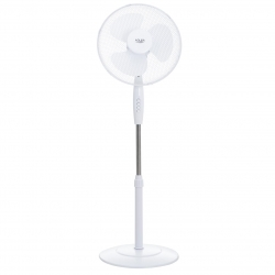 Ventilator  Adler AD 7323, diametru 23 cm, 2 setari de viteza, Alb