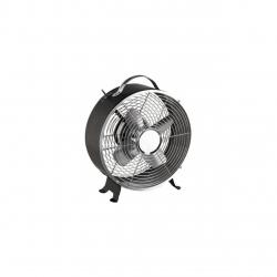 Ventilator de birou DOM348N, 25 cm diametru, 2 viteze, maner, Negru