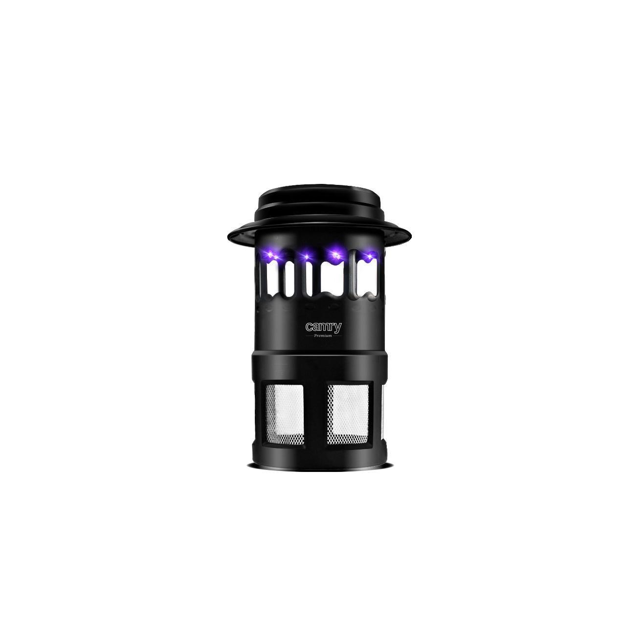 Aparat antitantari cu lampa UV si ventilator Camry  CR 7936, Negru