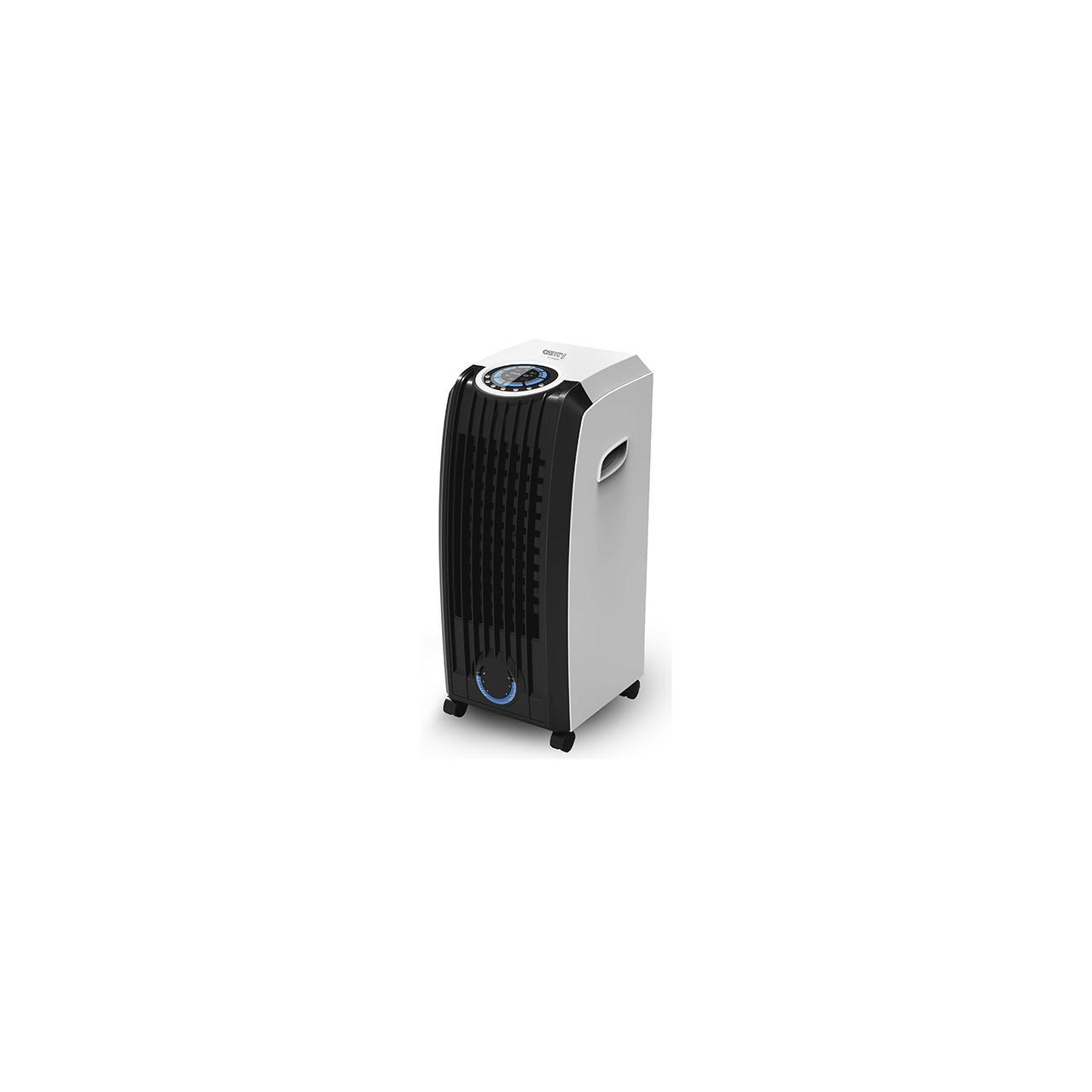 Aparat de aer conditionat 4 in 1 portabil Camry CR7920, 350W, rezervor de apa de 8l, 3 moduri de ventilare, telecomanda, Panou de control LED, Alb/Negru