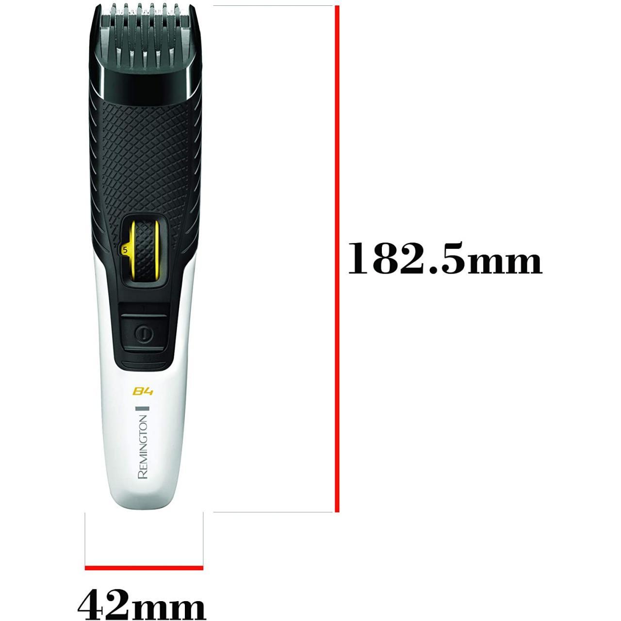 Aparat de tuns barba Style Series B4 Remington MB4000, Lame cu autoascutire, Alb/Negru