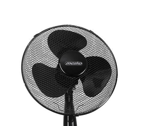 Ventilator cu picior MESKO MS 7311, 45 W, 3 viteze, 40 cm, Negru